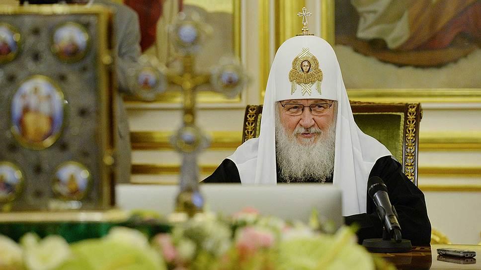 Патриарх Русской Православной Церкви Кирилл