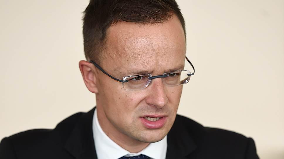 """Что глава МИД Венгрии Петер Сийярто говорил """"Ъ"""" о защите прав венгров, проживающих на Украине"""