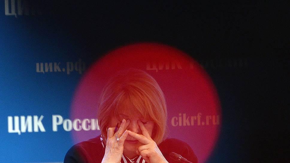 Элла Памфилова оценила нарушения при подсчете итоговых цифр приморских выборов как не имеющие аналогов и отменила их