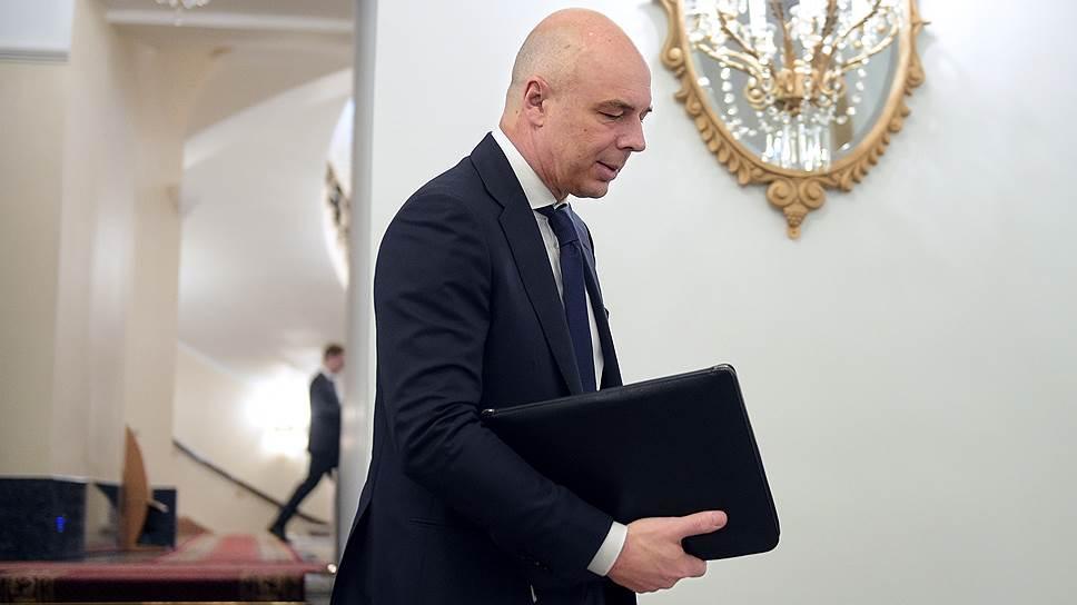 Заместитель председателя правительства Антон Силуанов