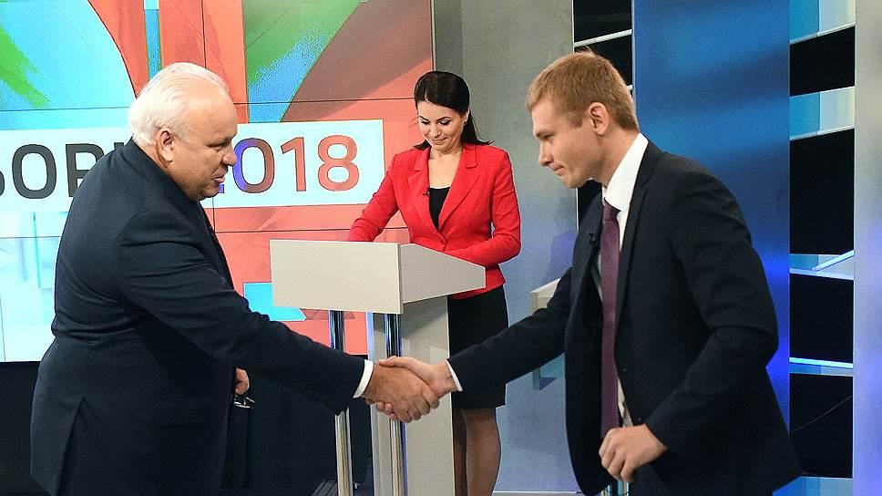 Как глава Хакасии Виктор Зимин пытался исправить положение ко второму туру выборов