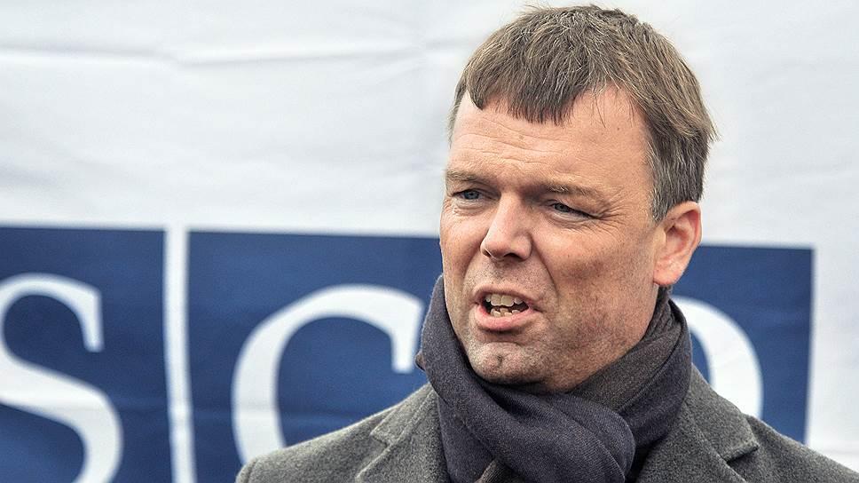 Заместитель главы Специальной мониторинговой миссии ОБСЕ на Украине Александр Хуг
