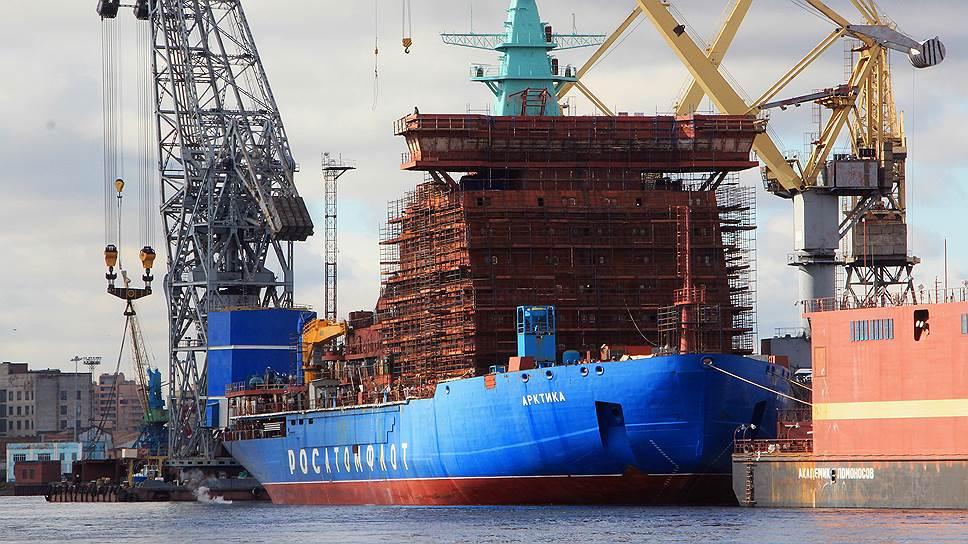 Какие банки готовы профинансировать строительство ледокола «Лидер»