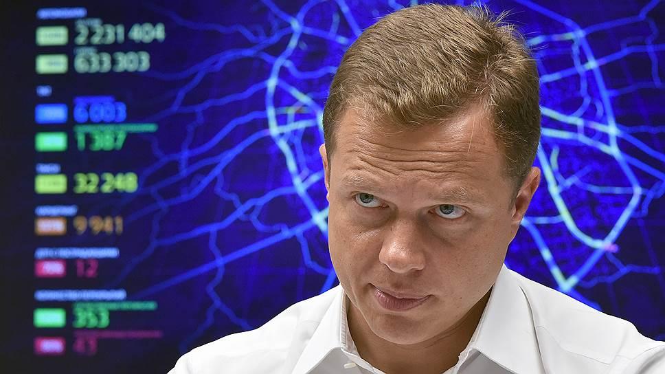 Руководитель департамента транспорта и развития дорожно-транспортной инфраструктуры города Москвы Максим Ликсутов