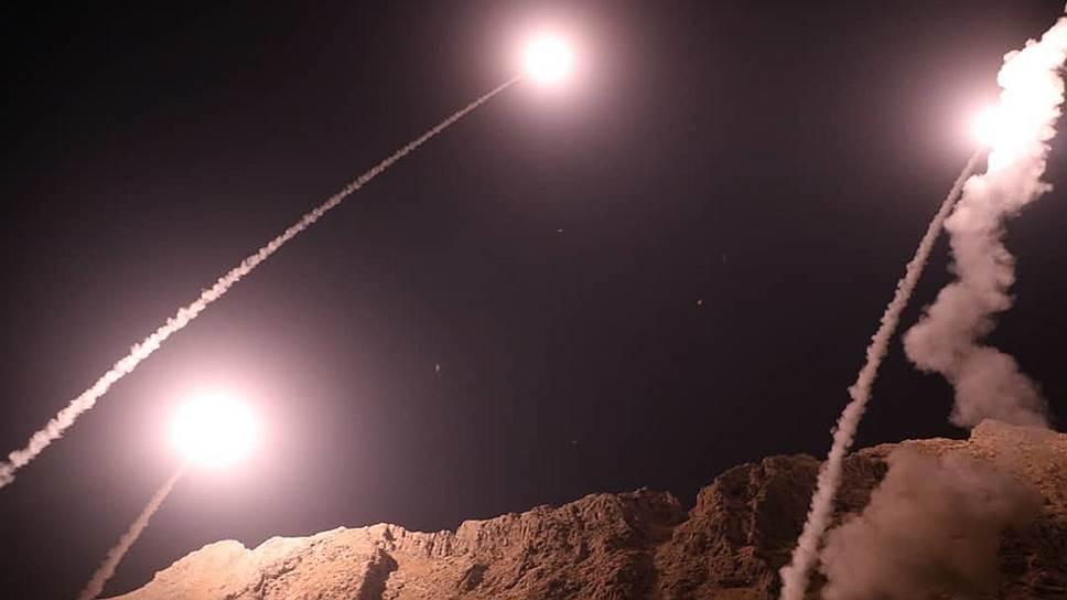 Как Тегеран нанес ракетный удар по району американской операции в Сирии