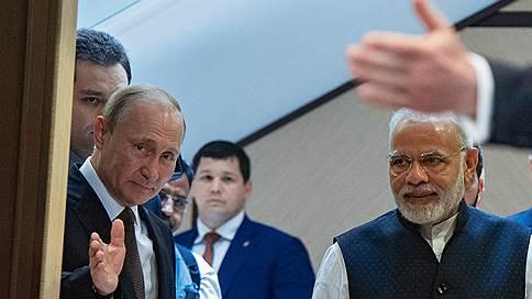 Борьба за место под санкциями // Индия и Россия предпочли не зависеть от США в вопросах обороны и ядерной энергетики