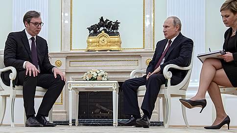 С легким сербцем // Как поехал домой после встречи с Владимиром Путиным Александр Вучич