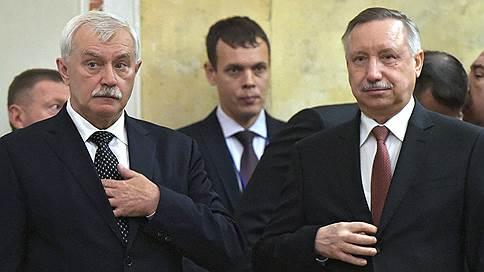 В Петербург вернулось временное правительство // Вместо Георгия Полтавченко врио губернатора назначен Александр Беглов