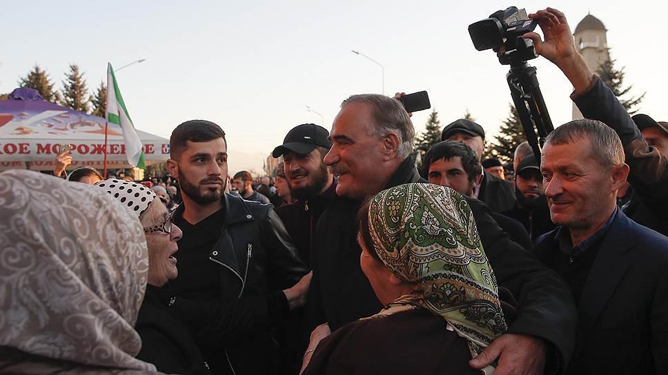 Ингушскому парламенту предложили пересмотреть соглашение с Чечней