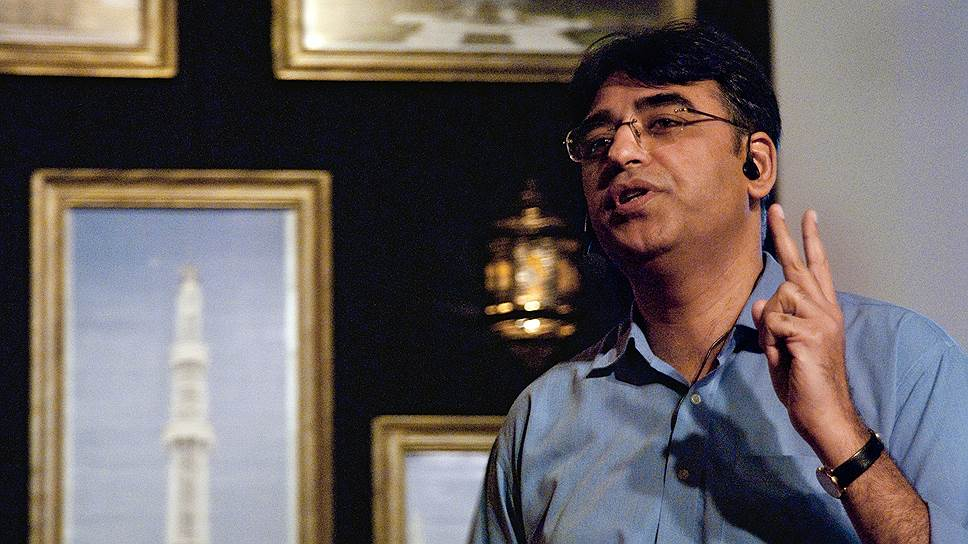 Министр финансов Пакистана Асад Умар