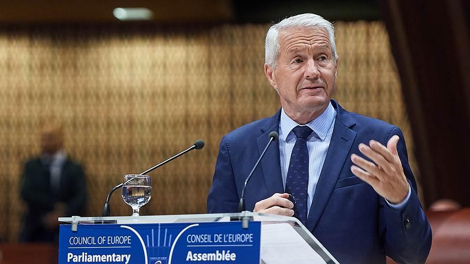 Генсек Совета Европы Турбьорн Ягланд