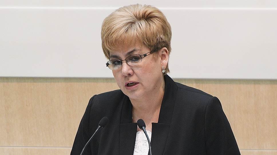 Бывший губернатор Забайкалья Наталья Жданова