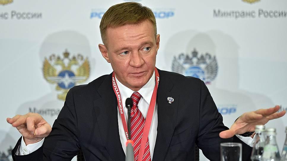 Врио губернатора Курской области Роман Старовойт
