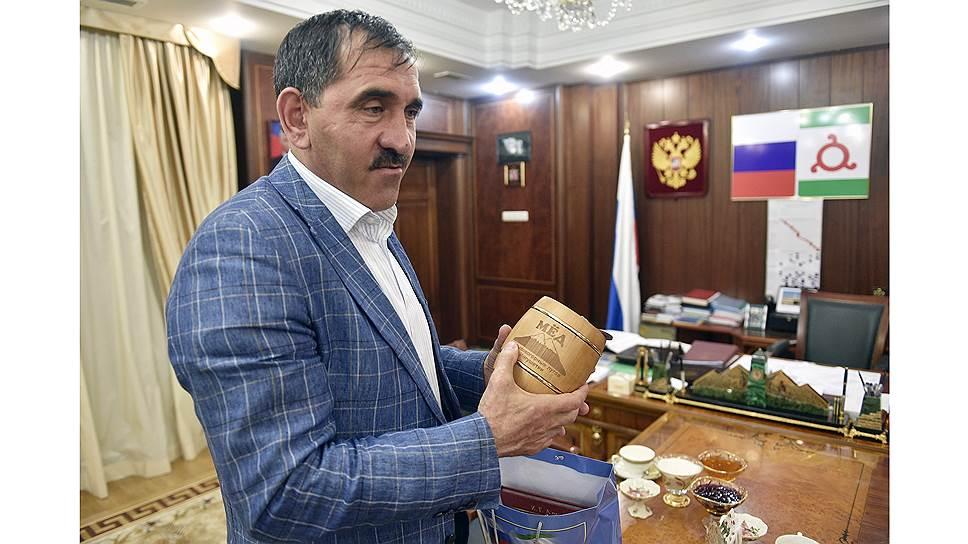 Глава Ингушетии Юнус-Бек Евкуров был переизбран на этот пост 9 сентября