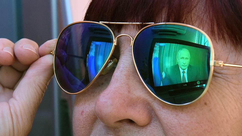 Почему на рейтинг президента не влияет его присутствие в теленовостях