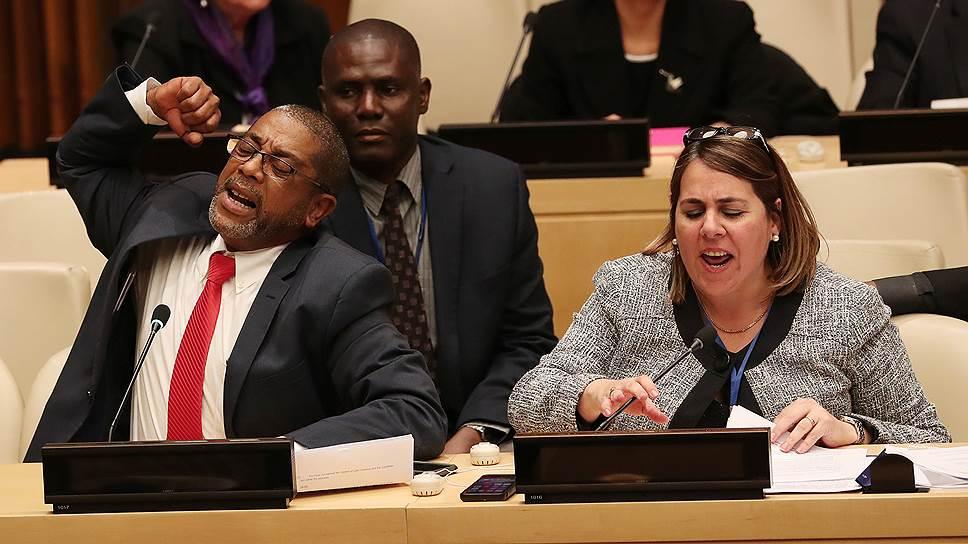 США закрепили блокаду Кубы акцией в ООН