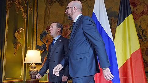 Сказ об упущенных возможностях // Как прошел визит Дмитрия Медведева в Брюссель