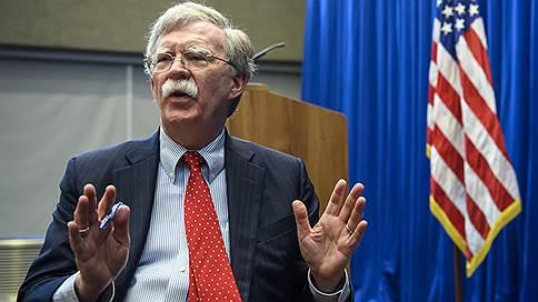 «Только две страны в мире связаны Договором о РСМД, и одна нарушает его» // Советник президента США по нацбезопасности Джон Болтон — о переговорах в Москве