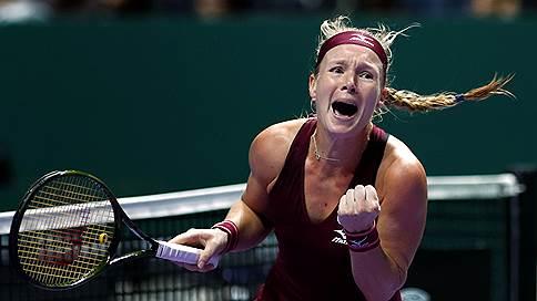 Сингапурская аномалия // Итоговый турнир WTA начался с сюрпризов