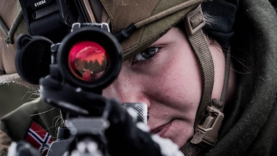 """Корреспондент """"Ъ"""" побывала на учениях НАТО в Норвегии"""