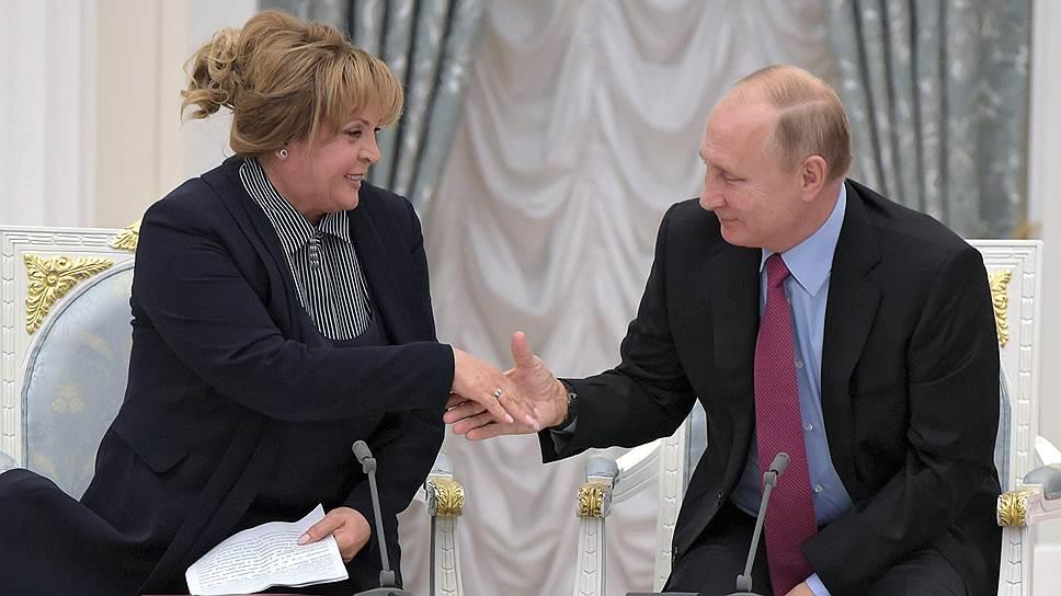 У Эллы Памфиловой, по ее признанию, к Владимиру Путину нет ничего, кроме огромной благодарности