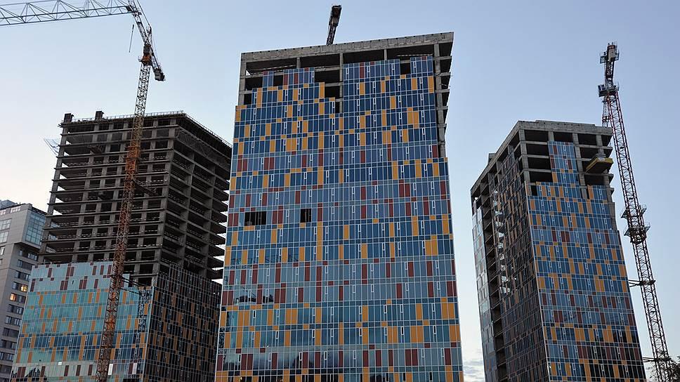 Жилой комплекс Sky House в центре Москвы может достроить мэрия