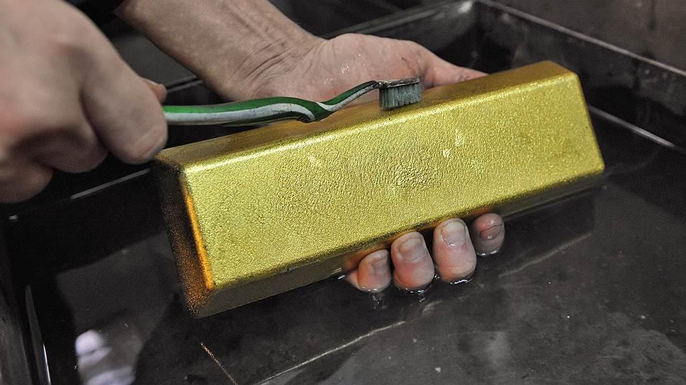 Как золото пригодилось против санкций