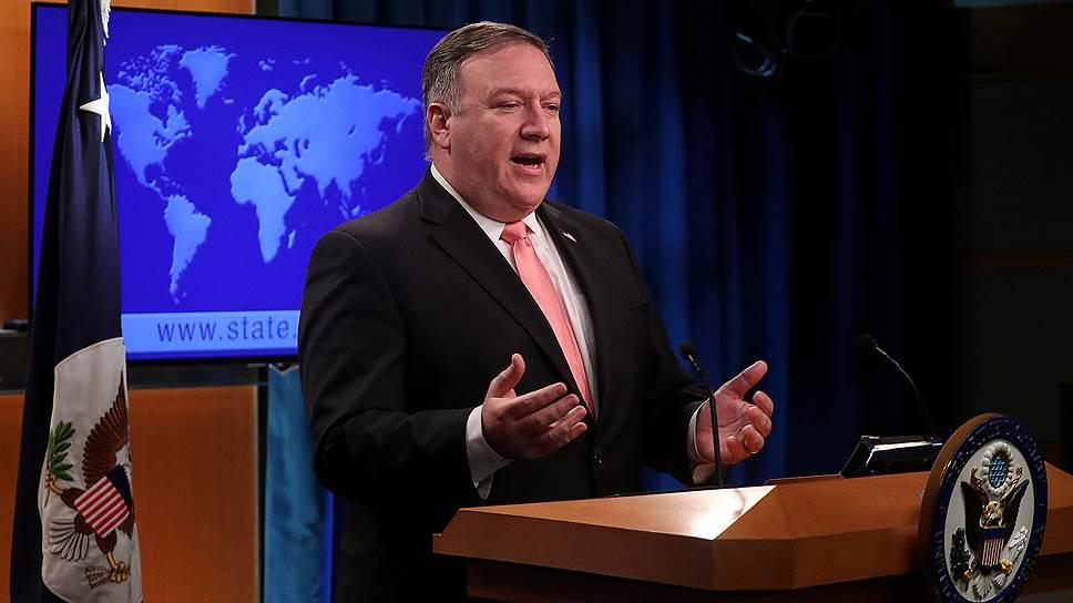 Госсекретарь США Майкл Помпео