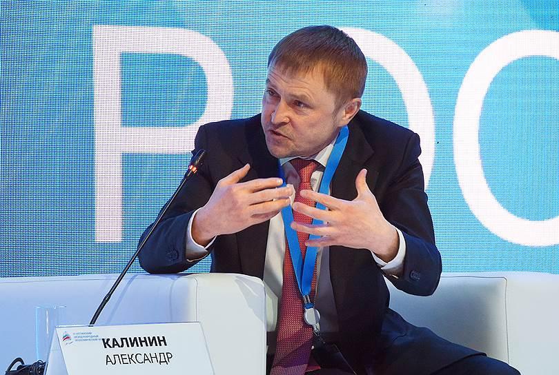 Глава «Опоры России» Александр Калинин