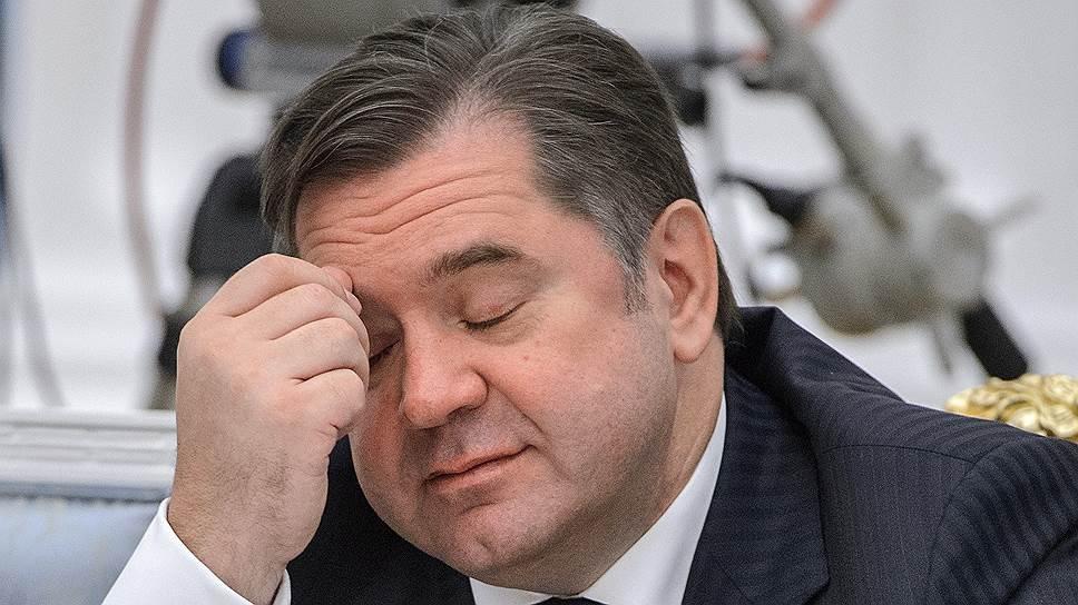 Бывший министр энергетики Сергей Шматко