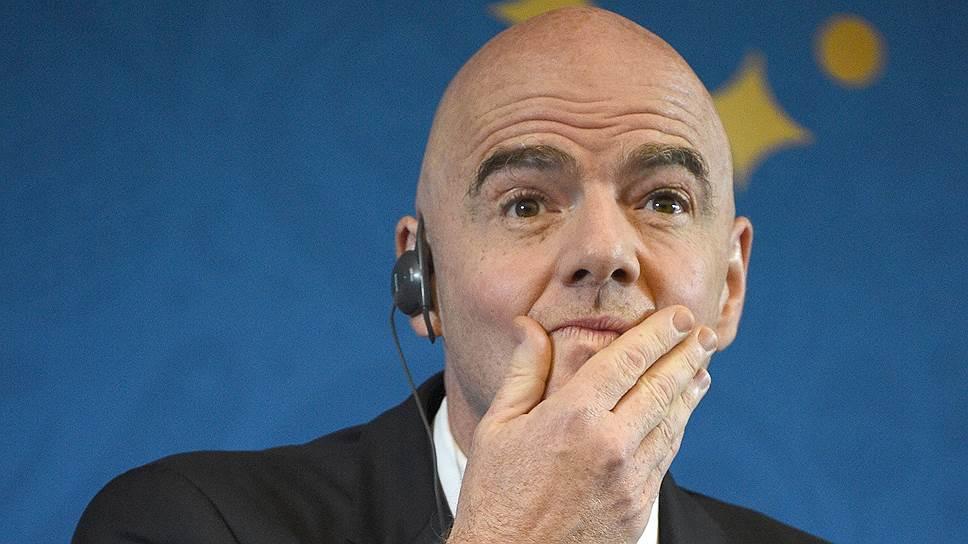 Президент FIFA Джанни Инфантино угрожает тем, кто будет играть в Суперлиге, запретом на участие в турнирах своей федерации