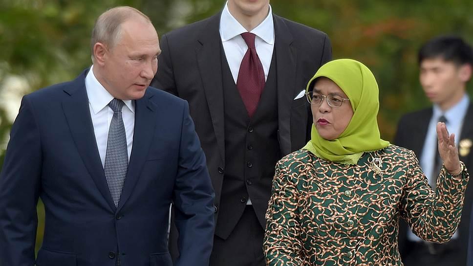 Переводчик Владимира Путина представлял собой, кажется, даже слишком надежный тыл для двух лидеров