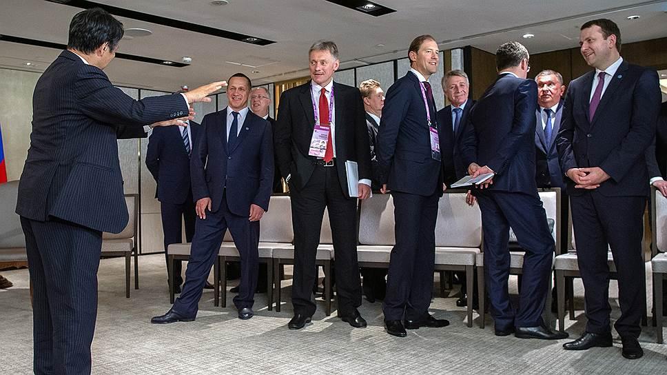 Попытка посла Японии в России дирижировать российской делегацией в конце концов провалилась