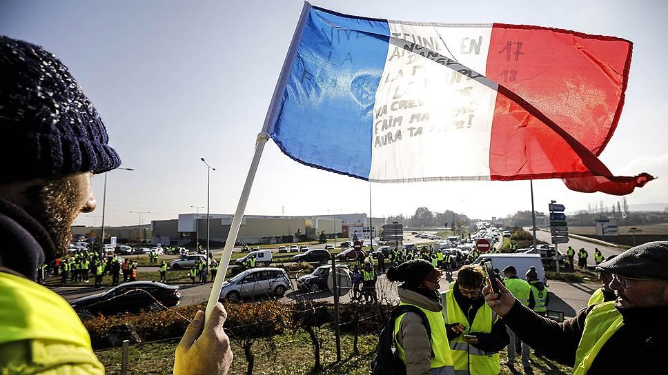 Как прошли первые протесты «желтых жилетов»