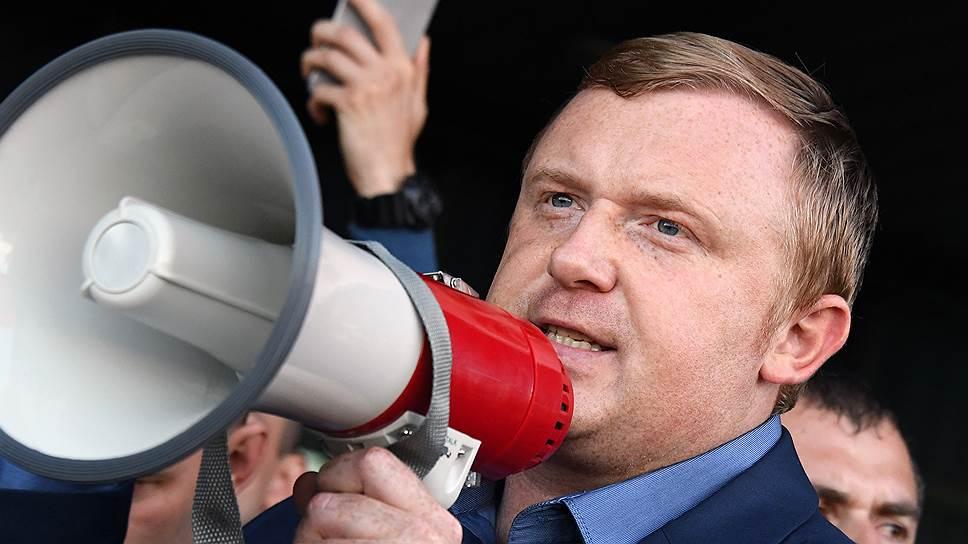 Кандидат в губернаторы Приморья Андрей Ищенко