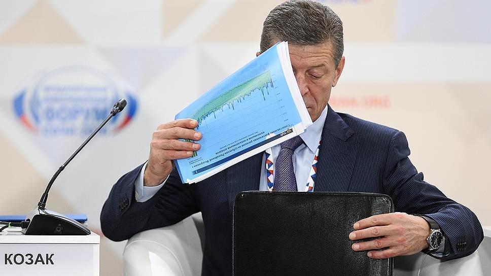 Заместитель председателя правительства России Дмитрий Козак