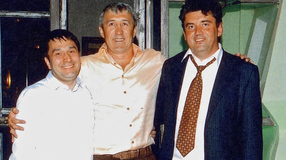 Бизнесмен Александр Перепеличный (справа)