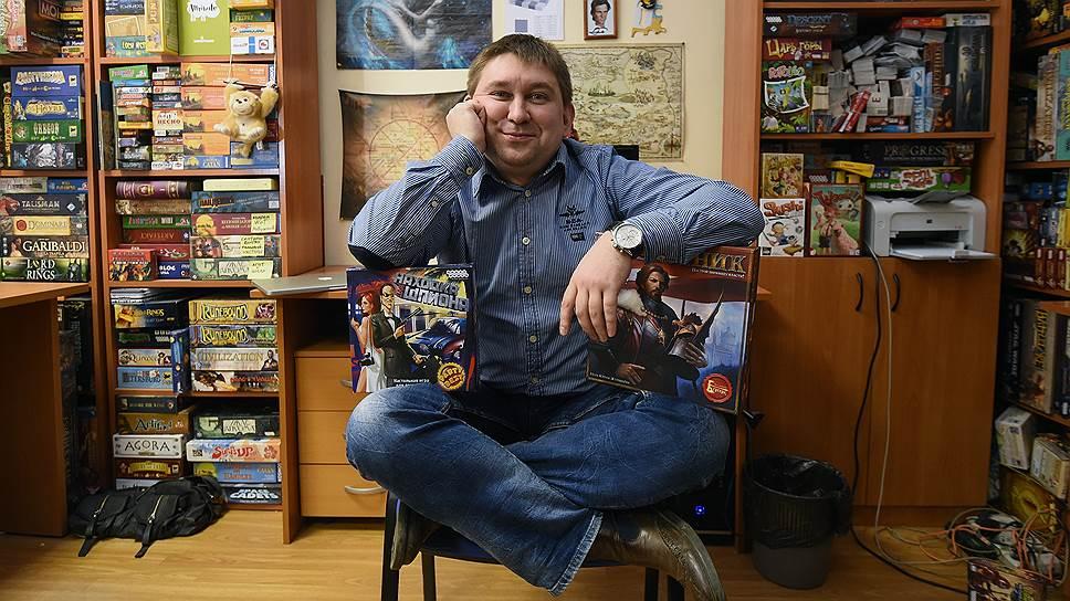 Гендиректор и совладелец Hobby World Михаил Акулов