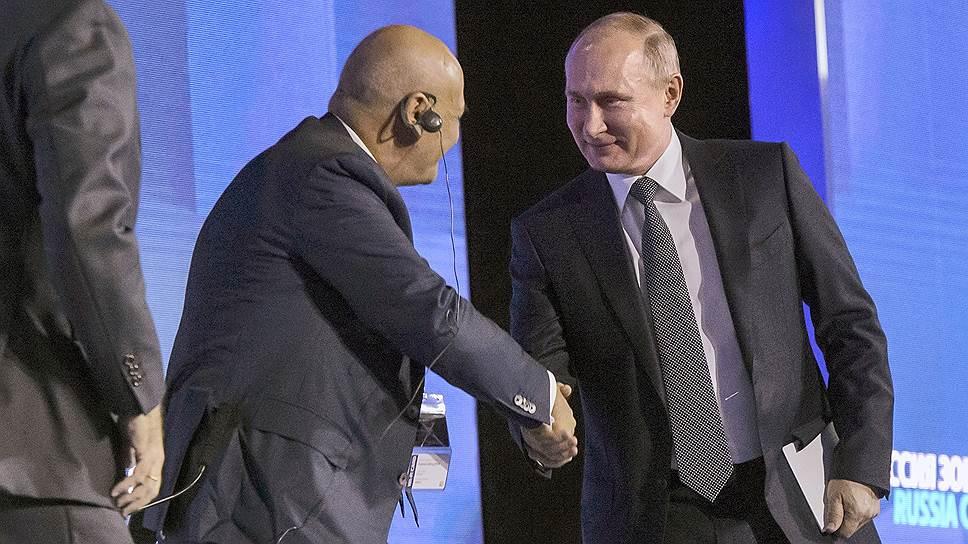 Владимир Путин всегда долгожданный гость на форуме ВТБ