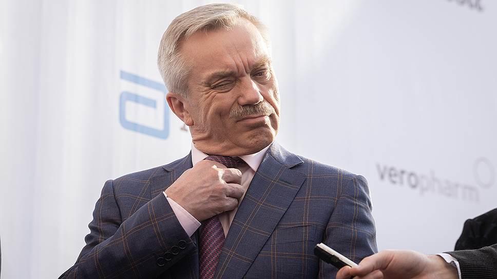 Губернатор Белгородской области Евгений Савченко