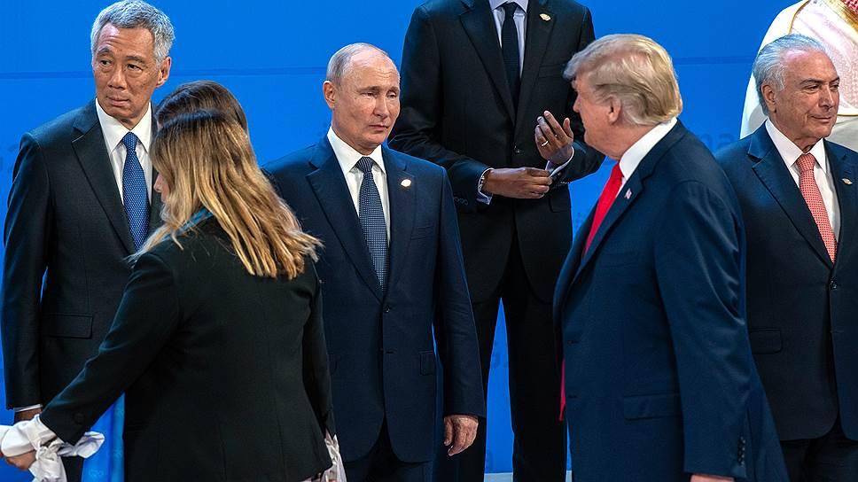 Как избегали друг друга в Буэнос-Айресе Владимир Путин и Дональд Трамп