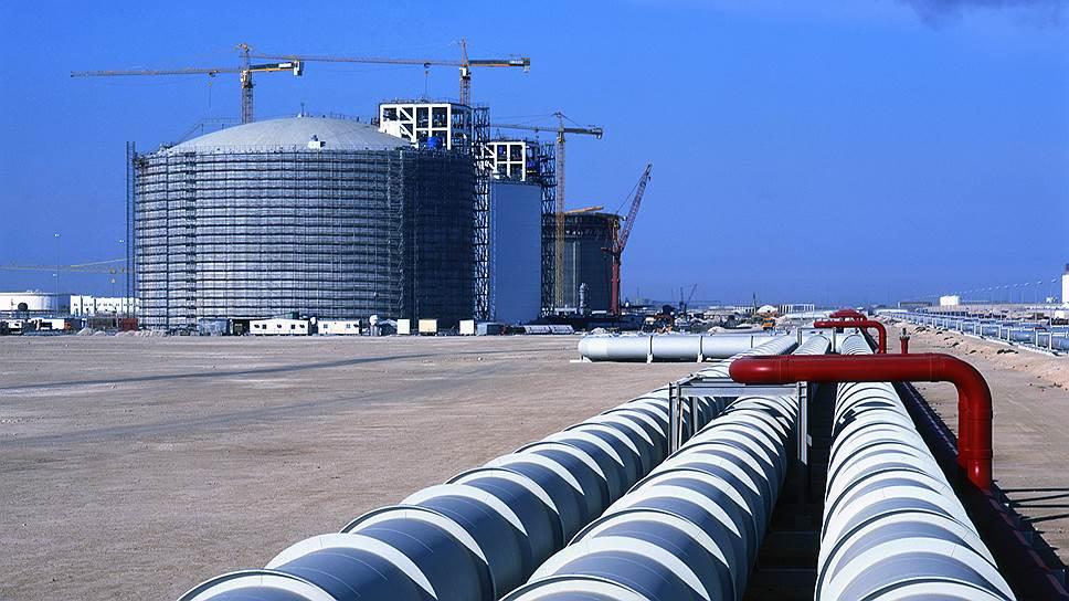 Катар, демонстративно выходя из нефтяного картеля ОПЕК, пригрозил мировому энергорынку мощностями по сжижению газа (на фото)
