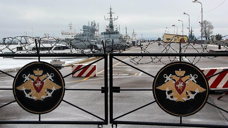 В Кронштадте появится новый военно-научный объект ВМФ