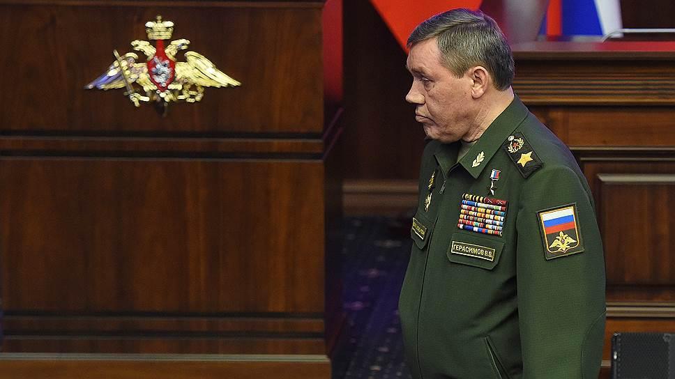 Начальник Генштаба ВС РФ Валерий Герасимов обвинил американцев в том, что, вместо того чтобы бороться с террористами в Сирии, они ведут дело к расчленению страны