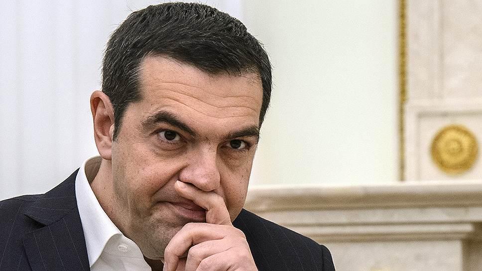 Как Владимир Путин принял в Кремле премьер-министра Греции Алексиса Ципраса