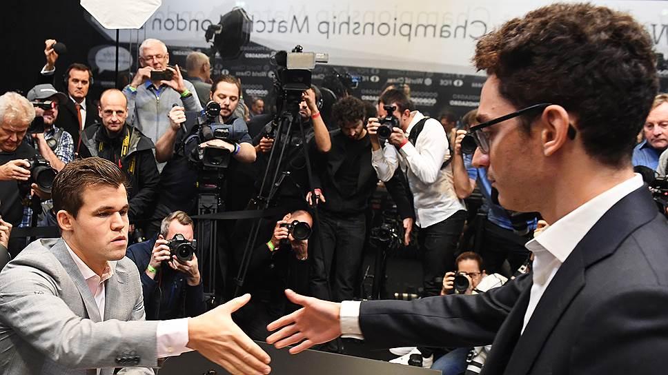 Совокупная аудитория матча между Магнусом Карлсеном и Фабиано Каруаной составила 1,9 млрд человек. Это примерно на 30% больше, чем в предыдущем поединке за титул чемпиона мира