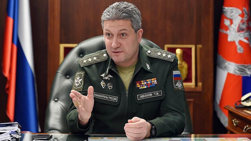 Замминистра обороны Тимур Иванов о приоритетах строительства для вооруженных сил