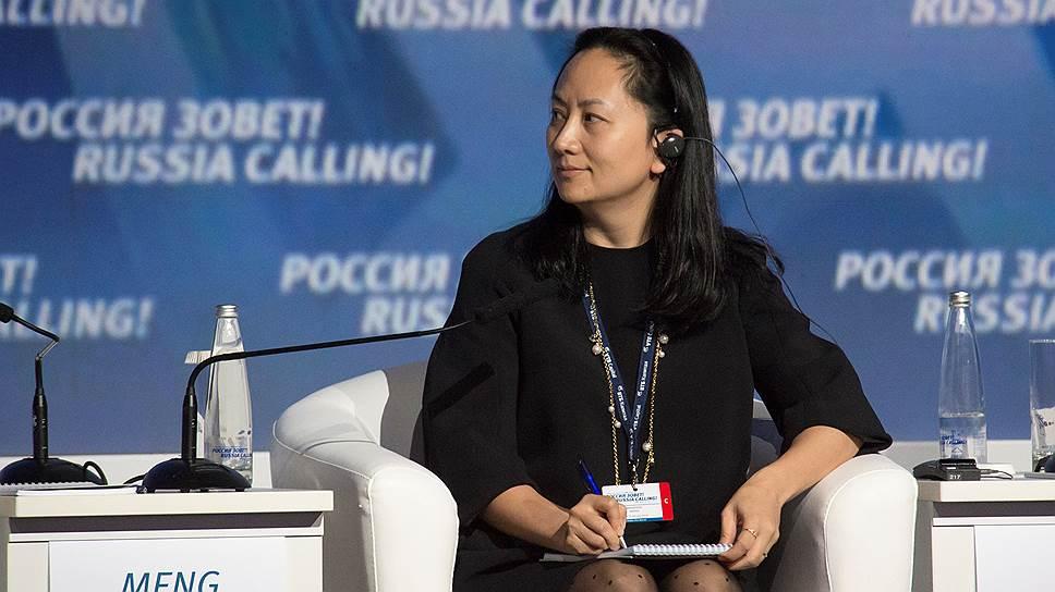 Финдиректор Huawei Мэн Ваньчжоу