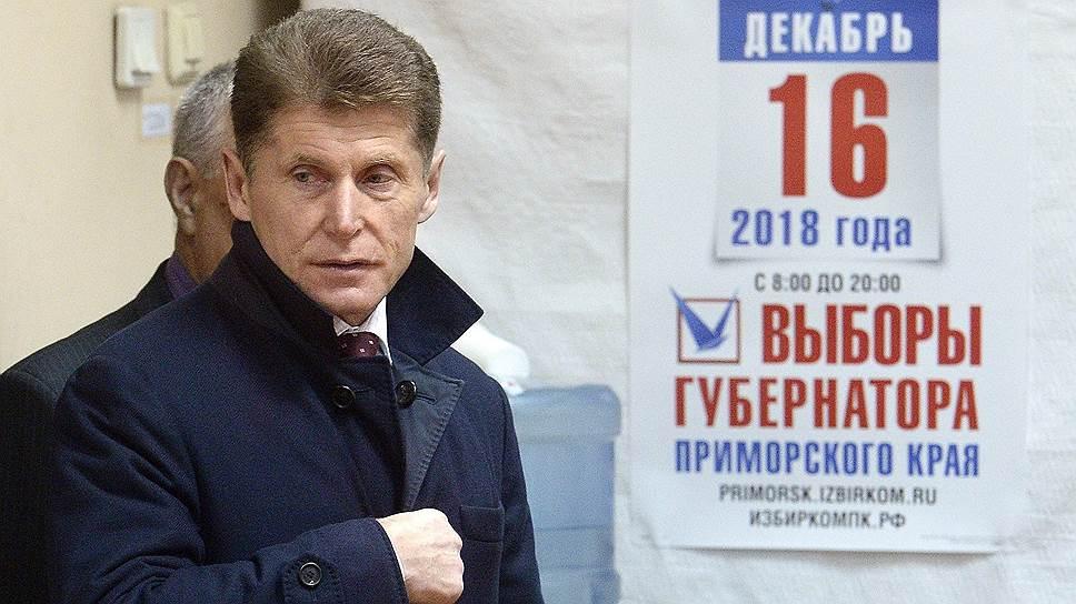 Как Олег Кожемяко выиграл повторные выборы губернатора Приморья