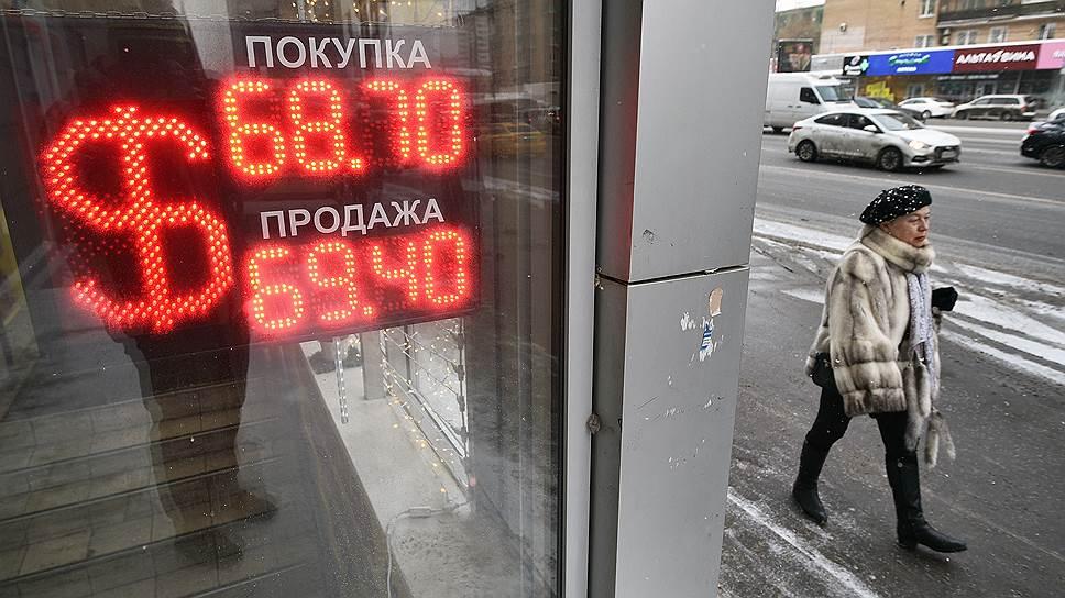 Рубль набрал вес на праздниках